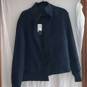 Banana Republic suede jacket new